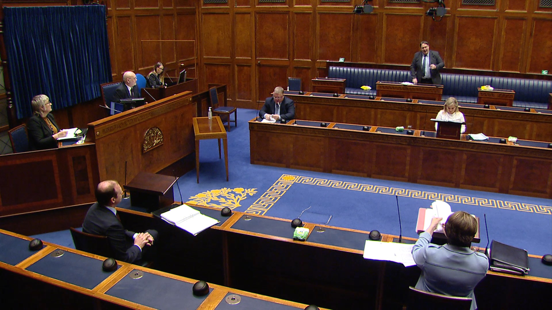 Question Time Executive Office - Monday 17th May 2021