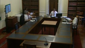 Committee for Justice Meeting Thursday 1 July 2021